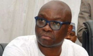 Fayose commiserates with Tinubu over lost son-dailyfamily.ng