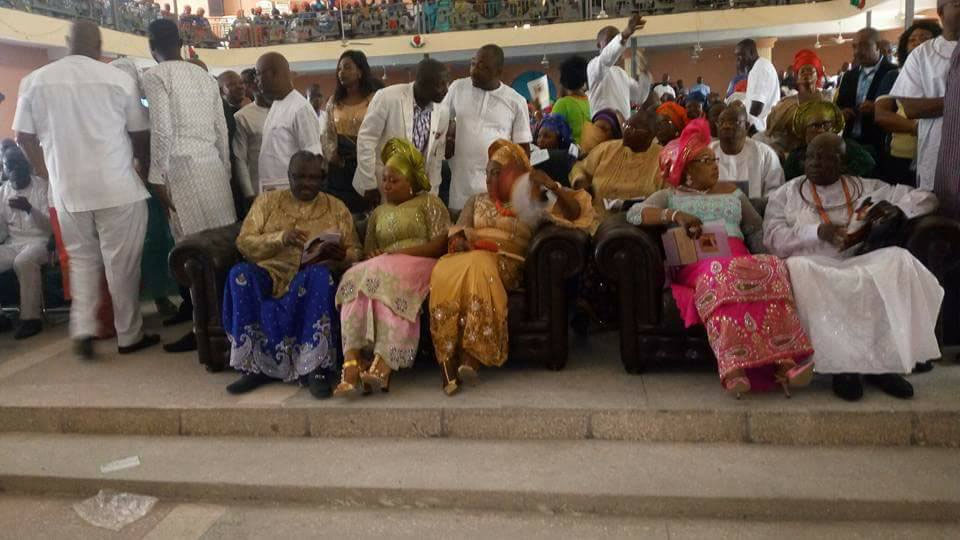 Thanksgiving service for the former governor for the formal Delta state governor: