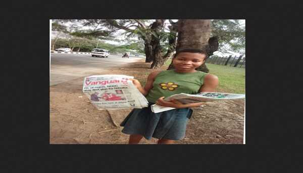 I Started Selling Paper At the Age Of 9 - 12years Old Paper Vendor