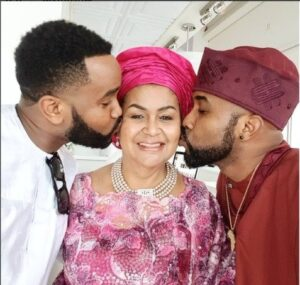 Banky W in the US Spends quality time with family and fiancee, Adesua