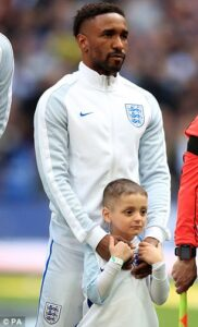 Highly Emotional: Bournemouth Forward Dafoe, Mourns Six-year-old friend