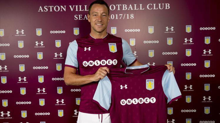 Chelsea Legend, John Terry Joins Aston Villa