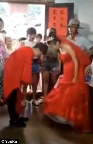 13-year-old boy marries teenage spouse in China