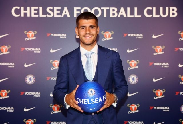 Chelsea signs Morata on a five-year deal