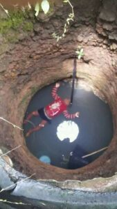Shocking:18 month old baby drowns in well