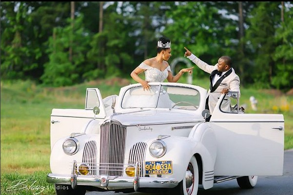 Nigerian couple ties the knot in style in America