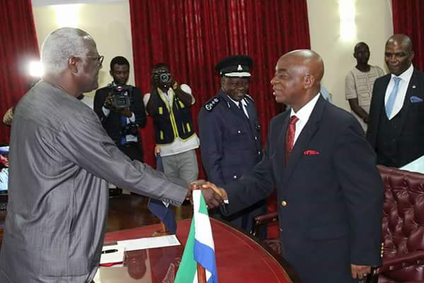 Sierra Leone Mudslide: Bishop Oyedepo Pledges donation of relief materials to victimized families