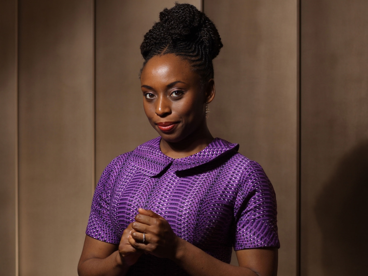 """""""I dream of a world where women are allowed to be many things.""""- Chimamanda Adiche -dailyfamily.ng"""