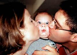 Dangers of kissing babies on the face