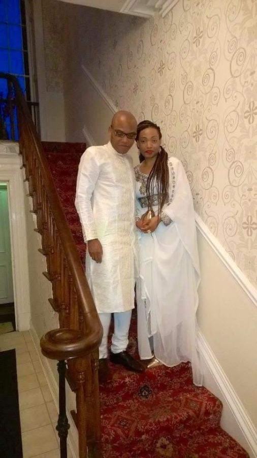 Nnamdi Kanu has his wife and children in the UK-dailyfamily.ng