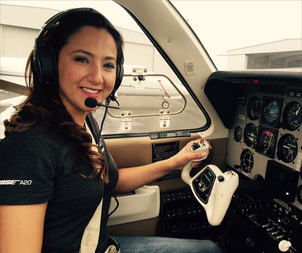 Afghan female pilot flies round the world to encourage women-dailyfamily.ng