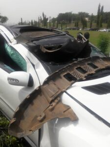 Woman fights FRSC over alleged chase of OAP to car crash -dailyfamily.ng