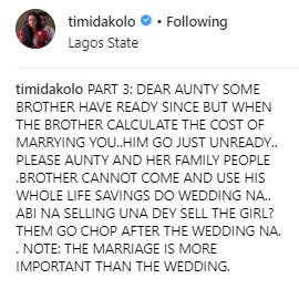 Don't let family people talk push you -Timi Dakolo gives marriage advice.dailyfamily.ng