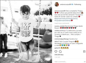 Lionel Messi's Wife Announces their baby's gender -dailyfamily.ng