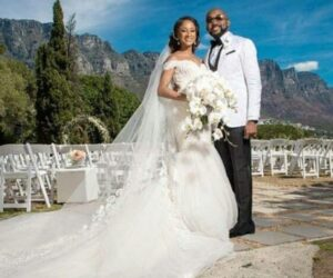 Banky W in Cape Town South Africa on -WEDDING -dailyfamily.ng