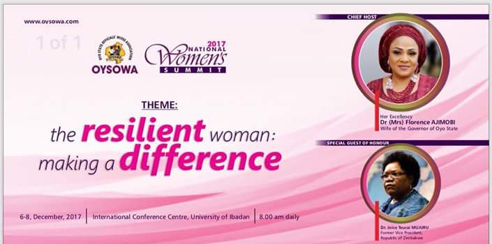 21 Governors Wives, Ex Liberian First Lady, Ex Zimbabwe VP Storm Ibadan As OYSOWA Conference Begins-dailyfamily.ng