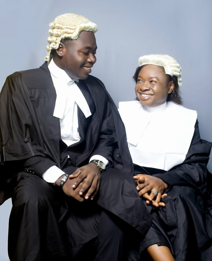 Mother, son called to bar same week, shares amazing story of their success