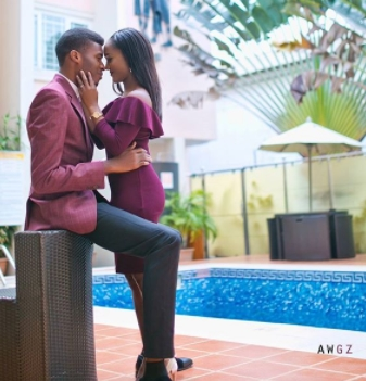 Amazing Intending couple storms internet with David and Goliath photoshoot.dailyfamily.ng