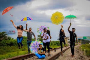 See couple weld in pre-wedding photos.dailyfamily.ng