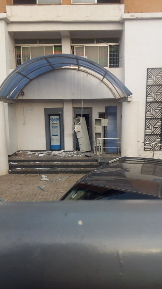 Photo News: Aftermath of Armed Robbers' Attack in Offa-dailyfamily.ng