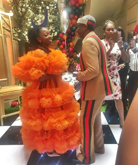 See What Femi Gbajabiamila Gave His Wife on Her 50th Birthday2.dailyfamily.ng