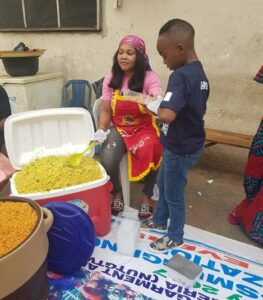 Mercy Aigbe Shows Off Cooking Skills with Her Son.dailyfamily.ng