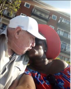Young Black Lady Flaunts Her 90-Year-Old White Man.dailyfamily.ng