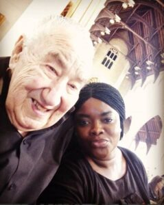 Young Black Lady Flaunts Her 90-Year-Old White Man3.dailyfamily.ng