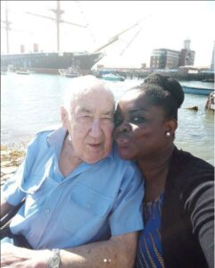 Young Black Lady Flaunts Her 90-Year-Old White Man5.dailyfamily.ng