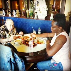 Young Black Lady Flaunts Her 90-Year-Old White Man6.dailyfamily.ng