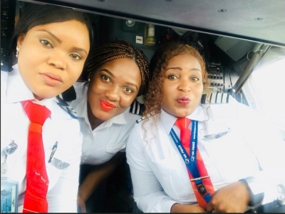 Amazing! Nigerian airline launches all-female flights-dailyfamily.ng