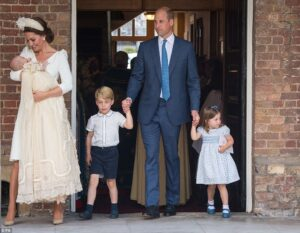 Royal Family Releases Lovely Photos From Prince Louis Christening.dailyfamily.ng