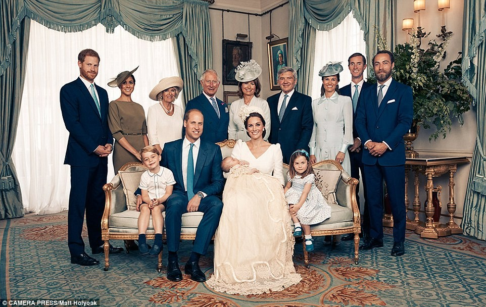 Royal Family Releases Lovely Photos From Prince Louis Christening5.dailyfamily.ng