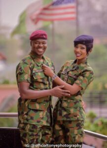See Lovely Pre-Wedding Photos from Two Military Lovers3.dailyfamily.ng