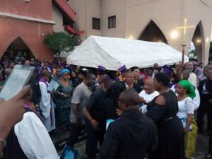 Service Of Songs Held For Hero Who Rescued 13 People.dailyfamily.ng