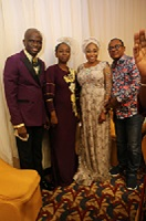Tope Alabi Gets Romantic With Husband At Family Booster's Dinner6