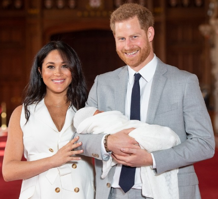 Prince Harry,Duchess Meghan Markle Welcome First Son-dailyfamily.ng