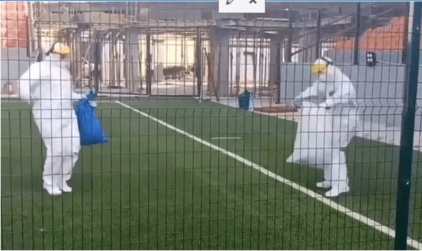 COVID-19: Lagos Health Workers, Patients Dance As They Celebrate Easter (Video)