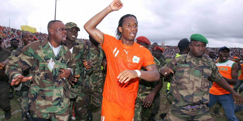 Pele and Drogba - The two footballers who halted a Civil war (Part 2)