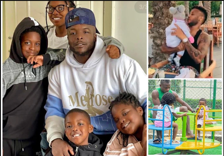 Photos: See how some Nigerian Footballers Celebrated Fathers Day.