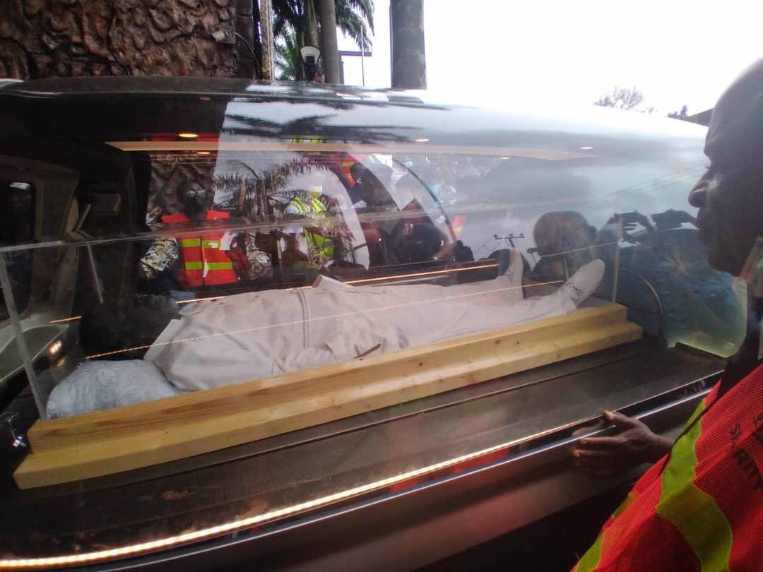 Photos: Late Prophet TB Joshua lying-In-State