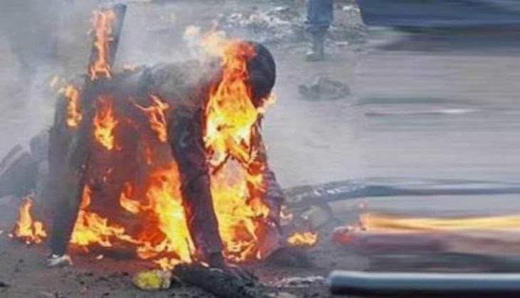 Youth sets himself ablaze over inability to pay NECO fees in Kano